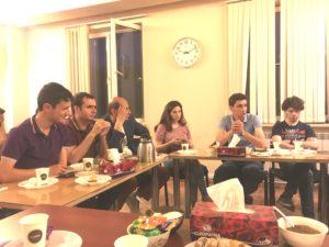 Tea party 07.06.2018